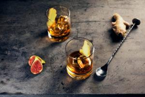 Fig & Ginger cocktail